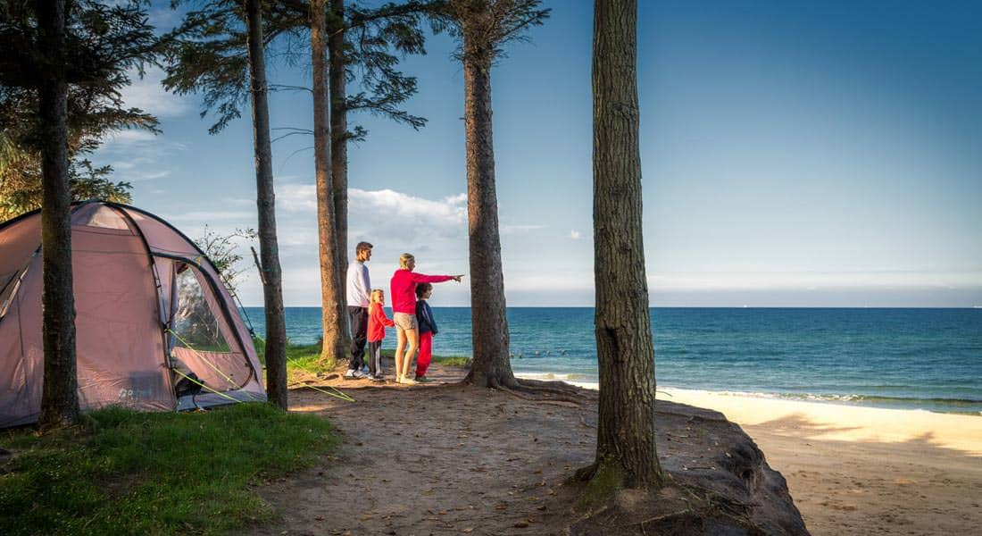 campingplatz an der ostsee camping zelten am meer. Black Bedroom Furniture Sets. Home Design Ideas